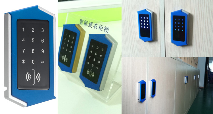 swipe card and password cabinet locks
