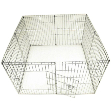 Outdoor Galvanized Puppy pet Enclosure Run Play Pen dog kennels and runs