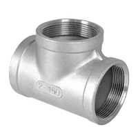 Customizable Malleable Iron Pipe Fittings Cast Iron Sanitary Tee