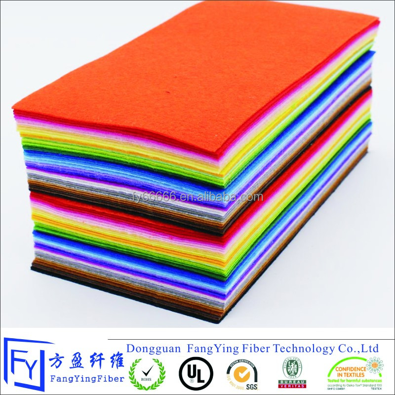 EN71 DIY polyester hobby crafts color felt