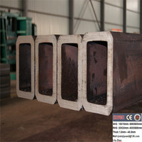 s355j2h thick wall square welded steel pipe exported to German