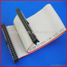1.27mm pitch 6 8 10 12 14 16 20 24 26 30 34 40 50 60 64 pin ul2651 24awg 26awg 28awg flat ribbon cable
