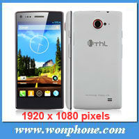 NEW phone 5.0 Inch IPS 1920x1080 pixels 13MP+13MP Camera Android 4.2 MTK6589T Quad Core 1.5GHz Phone THL W11
