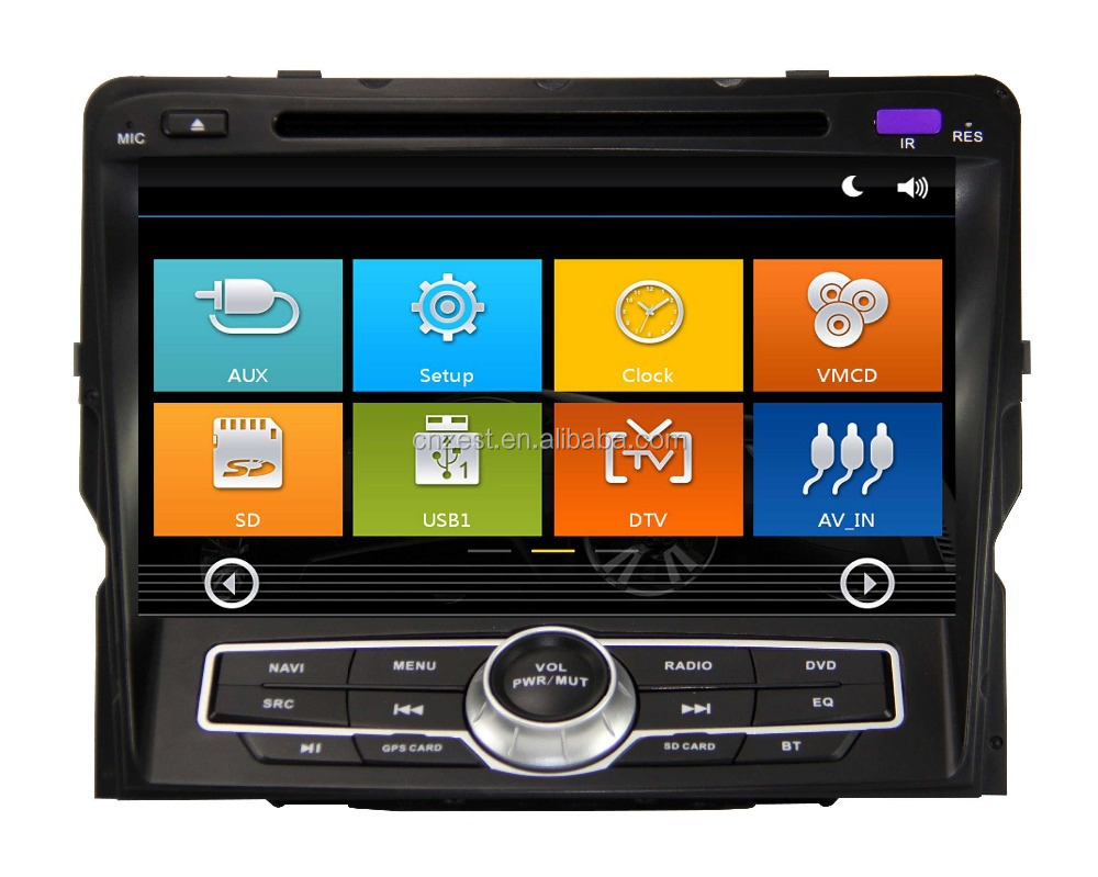 8'' double din dvd player for hyundai sonata 2011 with radio, gps, bluetooth, tv, phonebook,3g