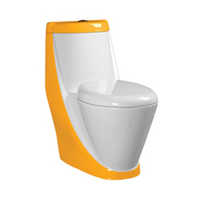 HS-1535F siphonic dual flush one piece sanitary ware ceramic cheap price porcelain toilet