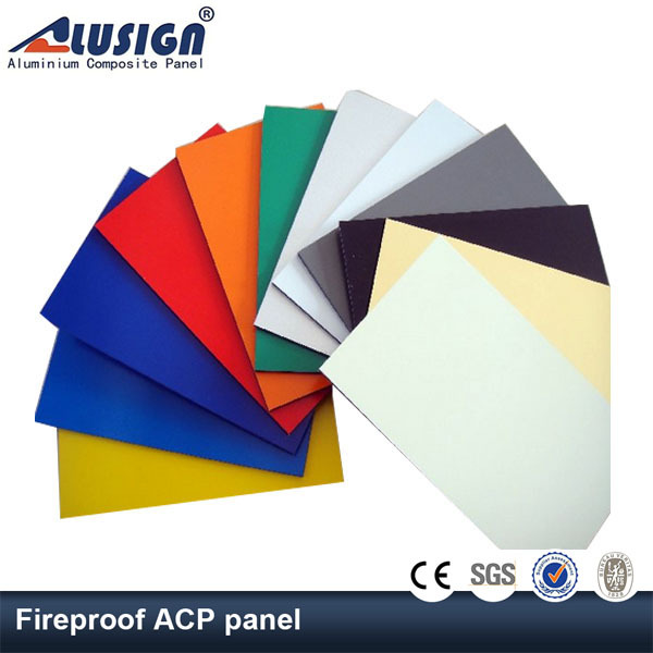 Alusign lightweight exterior garage wall finish panel latest building materials