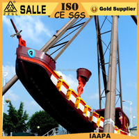 new design hot sale 24 seats pirate ship outdoor pirate ship play set amusement park swing rides for sale