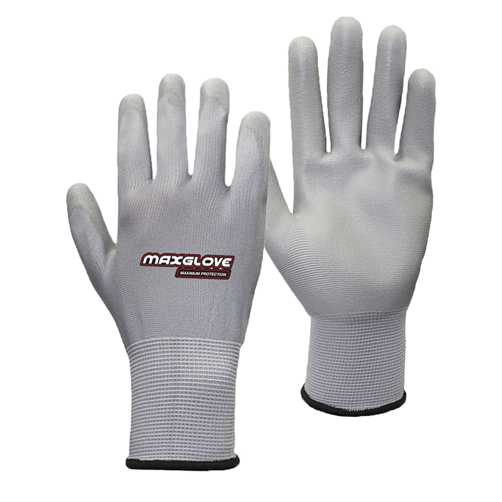 Factory Direct Grey PU Palm Coated <strong>Glove</strong>