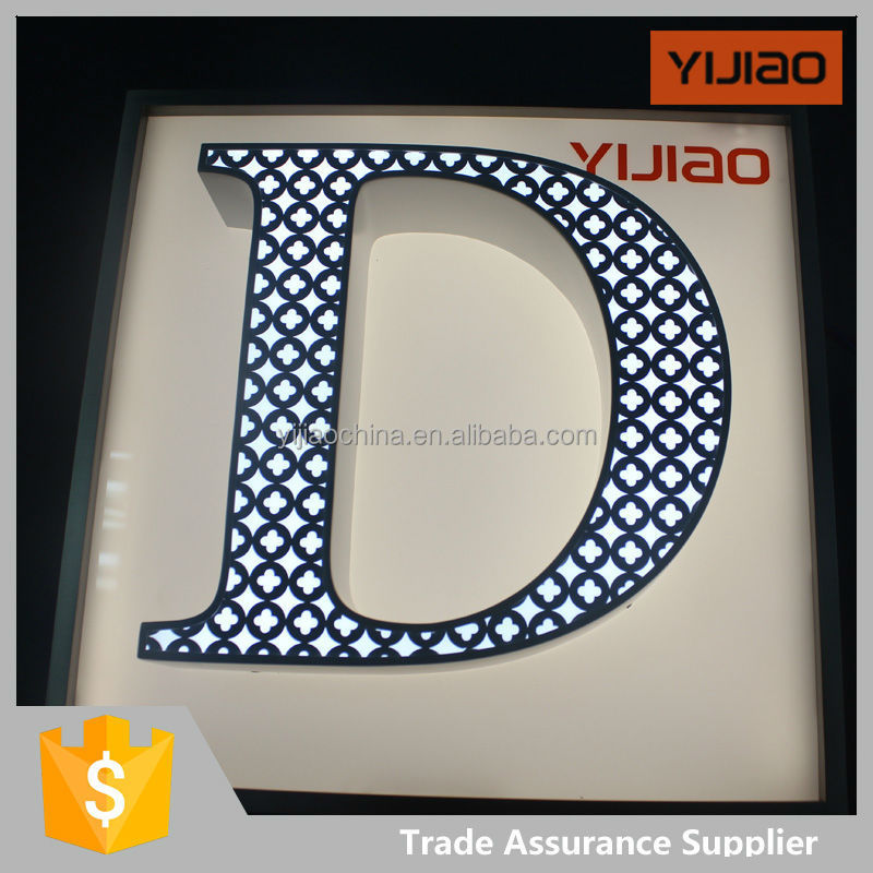 led light outdoor used box sign