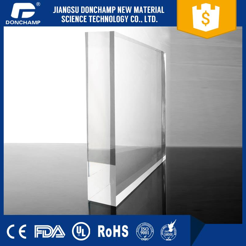 Best-selling transparent acrylic plexiglass fence panels cheap plastic mirror sheets with CE certificate
