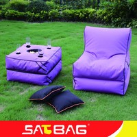 Foldable special purpose lounge bean bag chairs