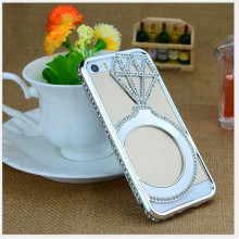 New types of covers for mobile phones cell phone crystal stone mobile cover