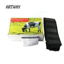T500 cow GSM GPRS GPS Tracker with solar panel trackers waterproof IPX7 gsm position big animal gps tracker