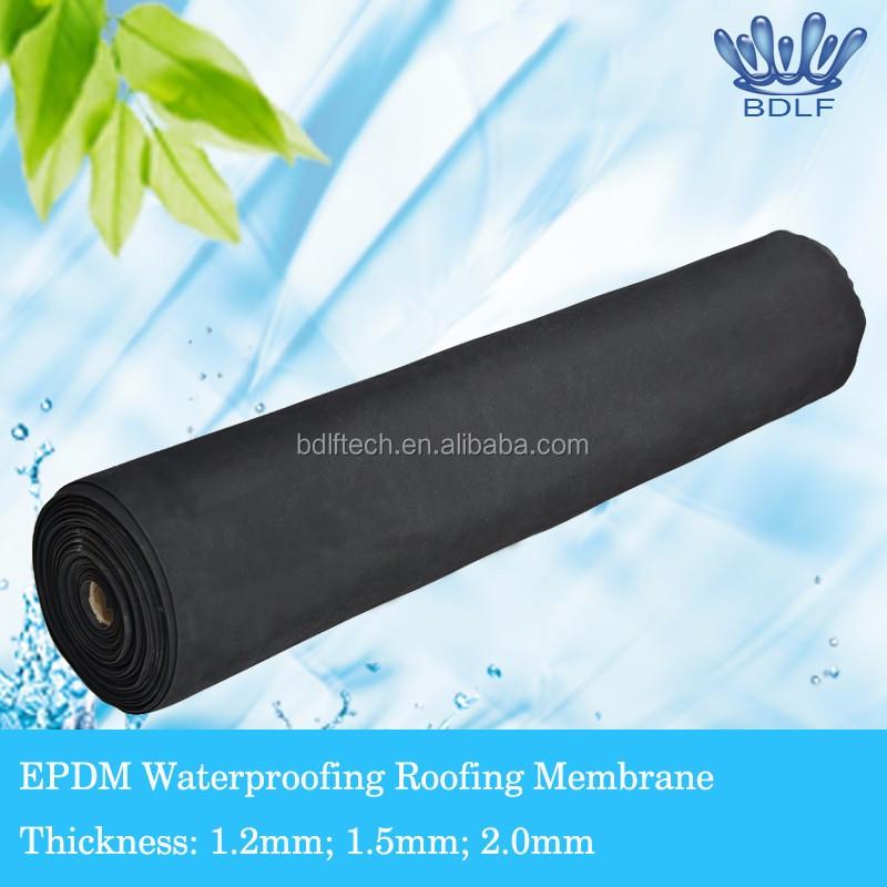Elastomeric Roofing Membrane : Malaysia used epdm waterproofing geotextile membrane buy