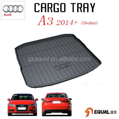 For Audi A3 Sedan trunk mat water proof trunk tray 3D cargo liner