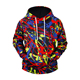 China Factory Price Sublimation Print Hoodie for Men