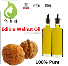 100% Pure Omega 3 Food Grade Edible Walnut Essential Oils For Cooking Delicacies In Culinary Use