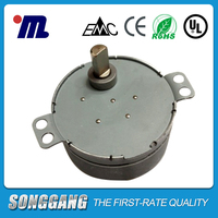 Mini AC Electric Motor 220V 7.5-9RPM 4W AC Synchronous Motor for Microwave Oven