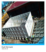 Factory price!! used grp frp fish water storage tanks for sale