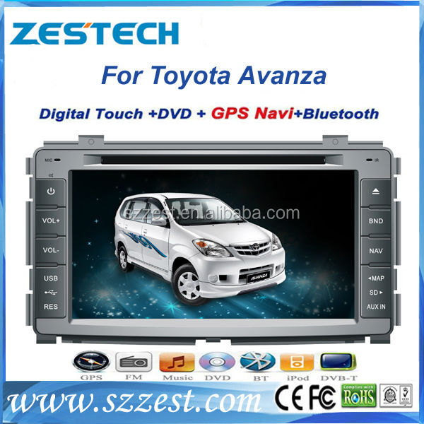ZESTECH car gps navigation for Toyota Avanza GPS/RDS/TV