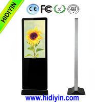 32 inch wireless wifi totem,Android Touch Screen Digital Signage, 1080P Digital commercial kiosk advertising machine