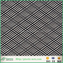 Manufacture customized 225g extruded plastic diamond netting flexible double line vacuun infusion mesh netting in China