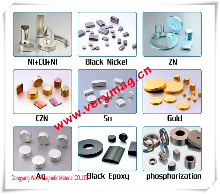 Professional rubber coated neodymium magnets neodymium magnet powder n35 magnet with CE certificate