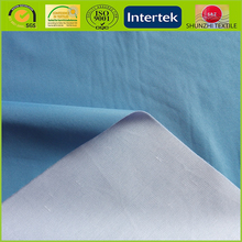 new turquoise pongee fabric / polyester pongee with net base fabric / two layers composite pongee