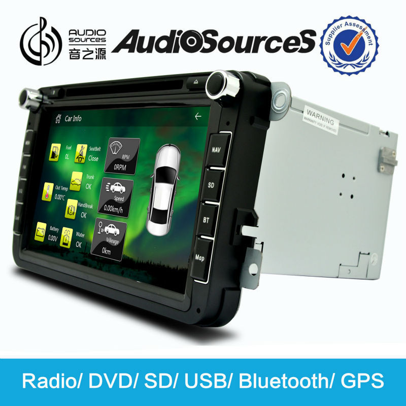 car dvd player for Volkswagen skoda with bluetooth phonebook sd usb radio unlock car dvd
