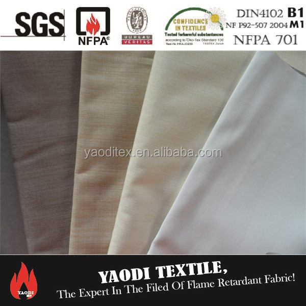 FR 3 Pass coating blackout fabric