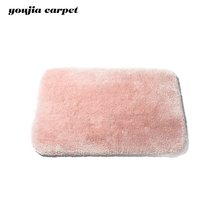 machinery decorative luxury modern bath Long hairs shaggy rugs