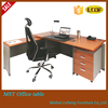 MDF office table/big office table with cabinet