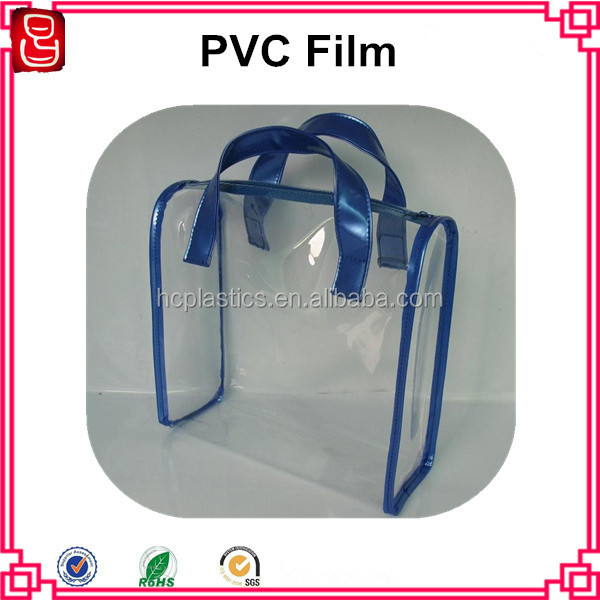 Crystal PVC Soft Film For Packing Bag