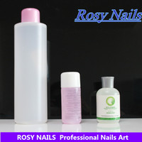 professional uv color gel no harm remover/cleanser soak off nail gel polish remover