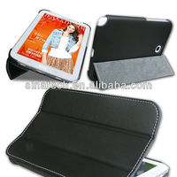 Hot sales smart case for tablet pc Samsung galaxy note 8 8.0 n5110 leather