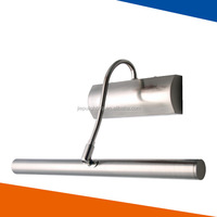 cheap T4, T5, E14 wall lamp, stainless steel mirror light.