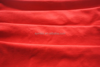 Factory textile knitted 97% cotton 3%spandex fabric for garment