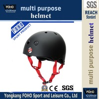 HE026K Hot sale superman ABS shell skating plastic parts helmet