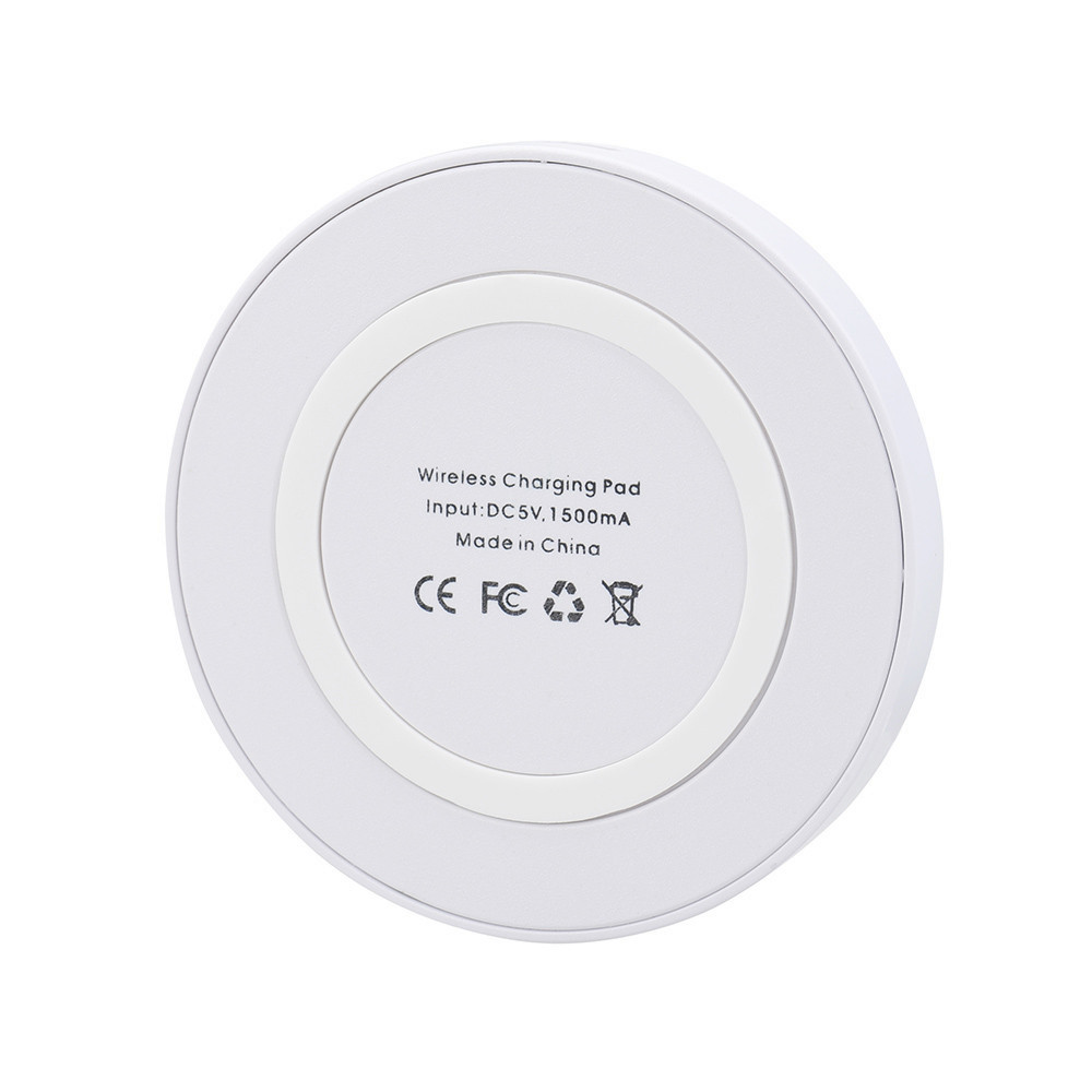 Q5 Portabel Ultra Slim Qi Receiver Adapter Wireless Charger Pad Untuk Iphone X 8 Ditambah Samsung Galaxy S6 S7 S8 S9 Tepi