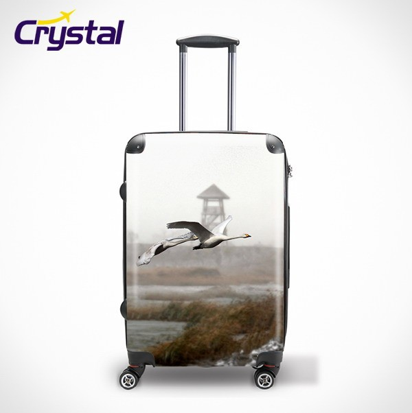 Hard Shell Luggage Suitcase Of Traveling Luggage Roller Bag And Trolley Luggage