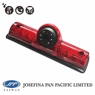 170 degrees 580TVL Third Stop light Brake light backup IR camera for universal cargo van