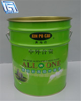 20L metal glue/oil/paint can for chemial industrial use