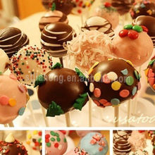 wholesale white cake pops paper sticks supply party decoration