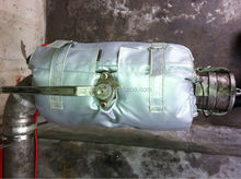 Removable and Reusable Insulation Jackets ,Ball valve thermal insulation jackets , Ball valve jackets,