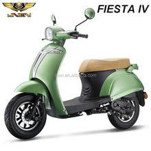 FIESTA4 50CC JNEN Motor 2016 2 person Vespa Design Fashion Ladies Gas Scooter Motocycle With EEC DOT Euro II CDI Fly Shark