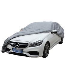 Auto Exterior Accessories Waterproof PEVA with Cotton Lining Folding Car Cover