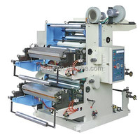 YT-2800 automatic 2 colors plastic film flexo printing machine