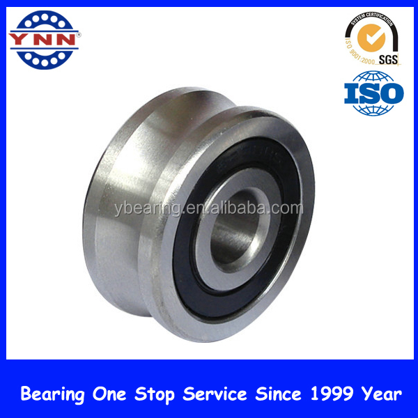 High precision v guide wheel bearing for guide rail