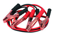 car pink battery jumper cables