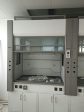 lab station fume hood fume arm chemical laboratory bench